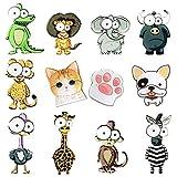 school locker fridge - Big Eyes Animals Fridge Magnets (12 Pack) Refrigerator Magnets, School Locker Accessories Funny Gift Prizes for Kids Girls Boys. For Whiteboard Classroom Cute Lockers Decorations