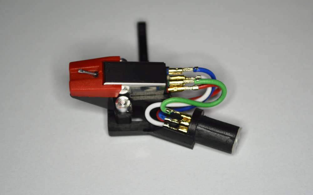 Headshell, mount, cartridge, needle, stylus for JVC L-F41, ALA110, LA10, LA100, LA120, LA21, LA31, LAX3, LF210, QLA200, QLA220, QLA51, QLA75, QLF300, QLF320, QLF61, QLY55F, QLY66F, MADE IN ENGLAND