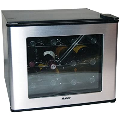Haier HVTM12BSS 12-Bottle Wine Cellar with Electronic Controls