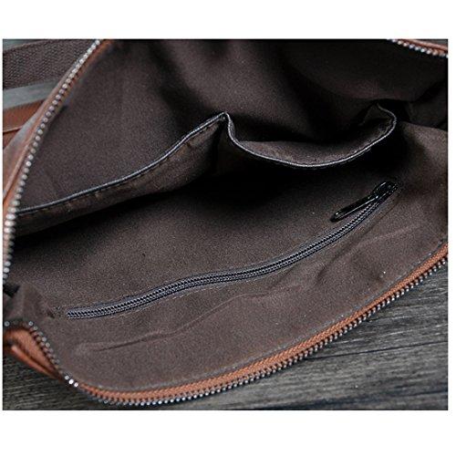 para Marrón hombre marrón hombro al NUBEN marrón Bolso tqwI6vIW4