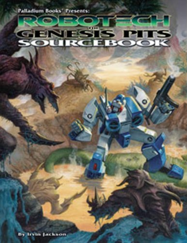 Robotech RPG: Genesis Pits - In Brands Palladium