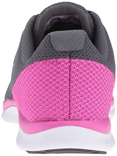 Nike Dames In Het Seizoen Tr 6 Cross-trainingsschoen Donkergrijs / Metallic Platina / Roze / Helder Grijs