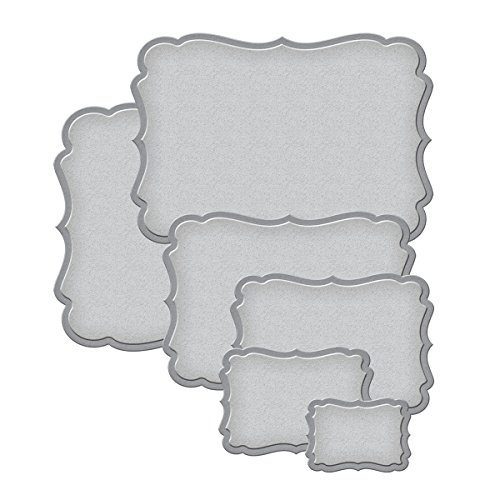 Spellbinders S5-025 Nestabilities Labels Seventeen Etched/Wafer Thin Dies