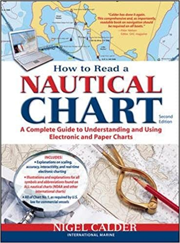 How to read a nautical chart 2nd edition includes all of chart