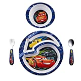 The First Years Disney/Pixar Cars 4-Piece Feeding Set
