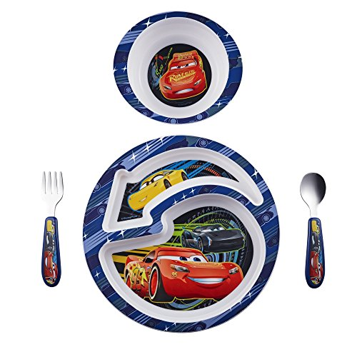 The First Years Disney/Pixar Cars 4-Piece Feeding -