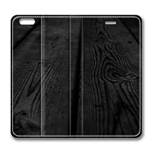 Black Wood Smart Case Cover with Back Case for Apple iPad Air