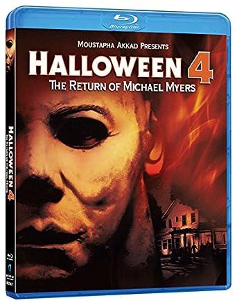 Amazon.com: Halloween 4: The Return of Michael Myers [Blu-ray ...