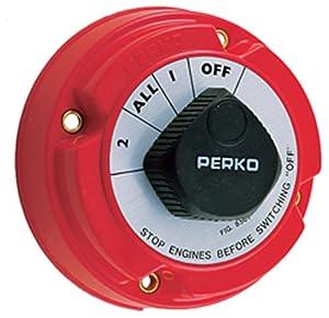 Perko 8501DP Marine Battery Selector Switch by Perko