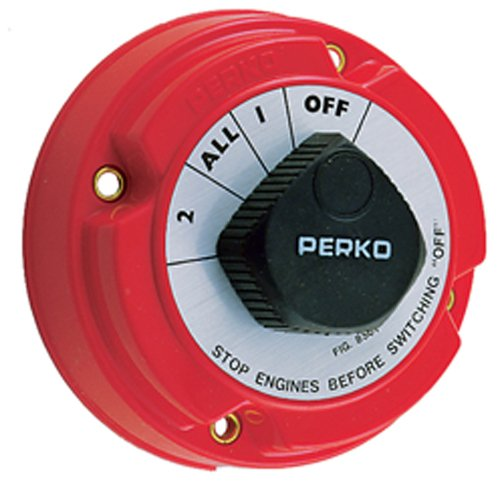 Perko 8501DP Marine Battery Selector