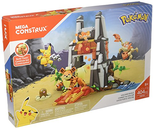 Mega Construx Pokemon Volcano (Pokemon Playsets)