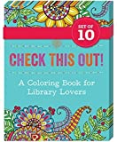 img - for Check This Out!: A Coloring Book for Library Lovers (10 Pack Bundle) book / textbook / text book