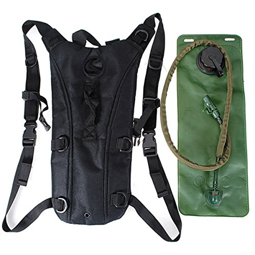 3c9bc9d46500 econoLED Us Army 3l Hydration Water Backpack Black+Survival - Import ...