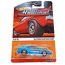 Hot Wheels Redline 9/18 - '84 Ford Mustang SVO by Mattel