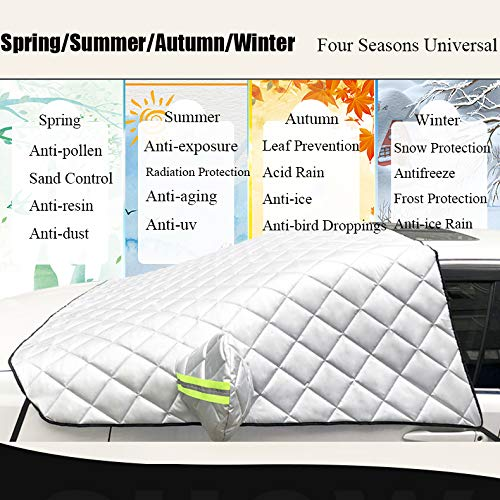 Heavy Duty Car Cover for Toyota Yaris 2005-2011 UV Snow Frost Protection