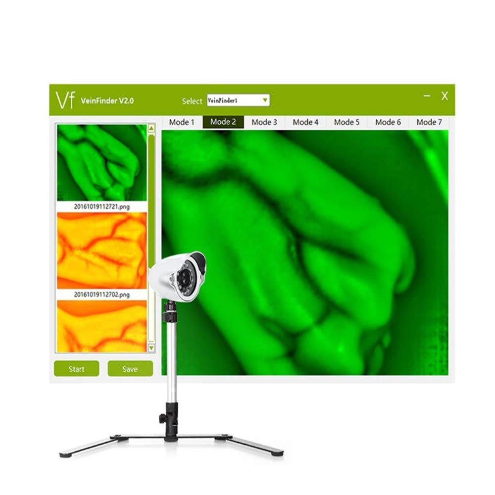 Venous viewer display imaging medical vein indicator adult child hand and foot leg vein detector adjustable by SHUIHU (Image #4)