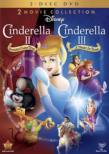 Cinderella II: Dreams Come True / Cinderella III: A Twist In Time (Two-Disc DVD Collection)