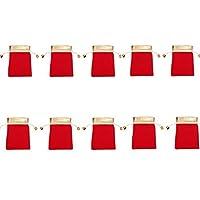 VVDF Braccialetto Sacchetto di immagazzinaggio del Sacchetto dei monili per Gli Orecchini Braccialetto della Collana del Regalo del Partito di Cerimonia Nuziale del Braccialetto 10pcs