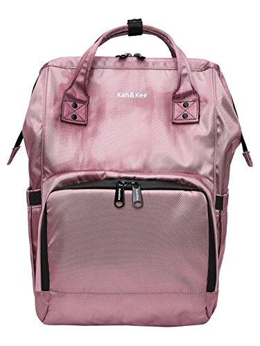 Kah&Kee Diaper Bag Backpack Organizer Waterproof Multifunction Anti-theft Travel Bags for Boys/Girls (Purple) by Kah&Kee