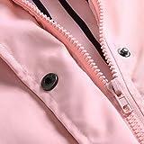 Shusuen Women's Waterproof Raincoat Hooded Rain