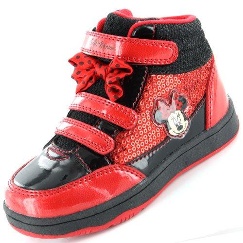 Disney - Baskets mode pour fille Multicolore Rouge/noir - Taille 28
