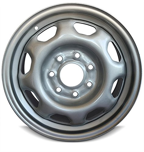 Road Ready Car Wheel For 2010-2014 Ford F150 17 Inch 7 Lug Gray steel Rim Fits R17 Tire - Exact OEM Replacement - Full-Size - 7 Lug Wheels