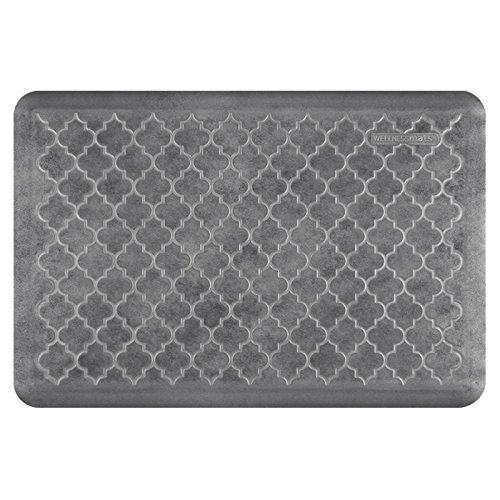 WellnessMats Estates Collection Essential Series Slate Trellis 3 x 2 Foot Anti-Fatigue Mat