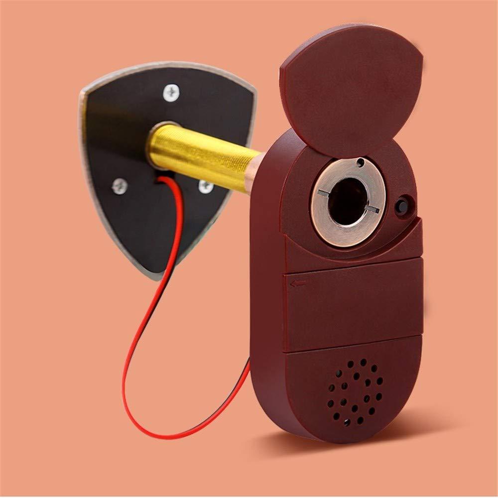 WJTZ-FYH Home doorbell cat eye with 26 ringtones 2-in-1 door mirror metal security door peephole mirror, A3 by WJTZ-FYH (Image #4)