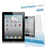 amFilm iPad 2 Screen Protector HD Clear for Apple iPad 4 3 2 and iPad with Retina Display (2-Pack) (NOT for iPad Air iPad 5)