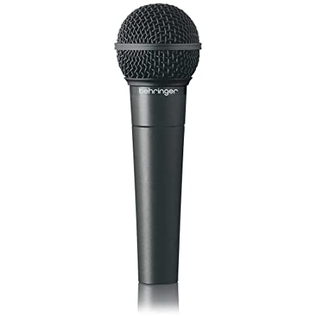 front facing Behringer ultravoice xm8500 dynamic microphone