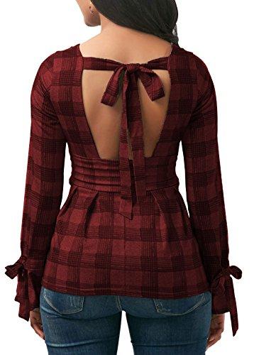 Open Back Tie Dress - 9