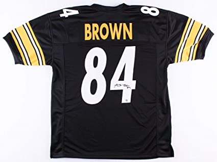 finest selection 32baa e6ae2 Antonio Brown Autographed Signed Steelers Jersey Signature ...