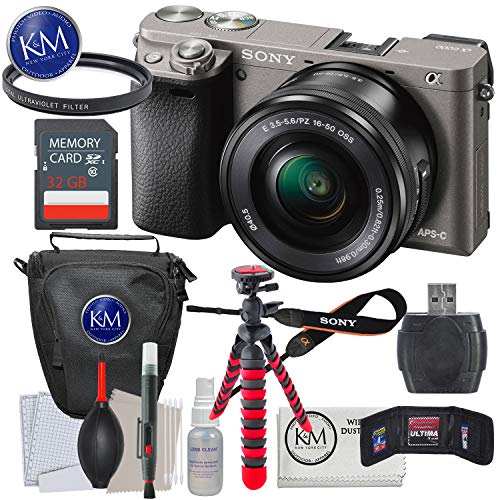 Sony a6000 Mirrorless Camera (Graphite) w/16-50mm Lens + 32GB + Essential Photo Bundle Review