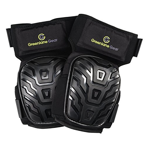 Gel Knee Pads for work designed to prevent slipping/sliding for gardening, construction, floor, tiling - Industrial grade heavy duty flexible kneepad- soft kneepads fits all (small-large) men/women by Greenlane Gear (Image #7)