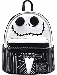 x The Nightmare Before Christmas Jack Cosplay Faux Leather Backpack