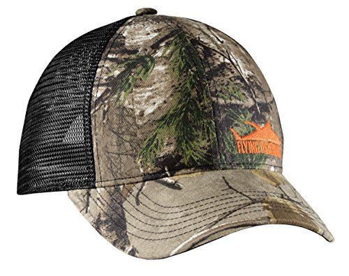 Flying Fisherman H1760 Tuna Camo Trucker - Fisherman Hats Flying