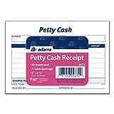 Adams Petty Cash Receipt Pad (ABF9672)