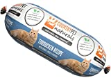 CountryPet Naturals Pasteurized Frozen Cat Food, 1.5 lbs, Turkey Duck and Chicken Recipe, 16 Rolls (24 lbs Total), Made in New Zealand Larger Image