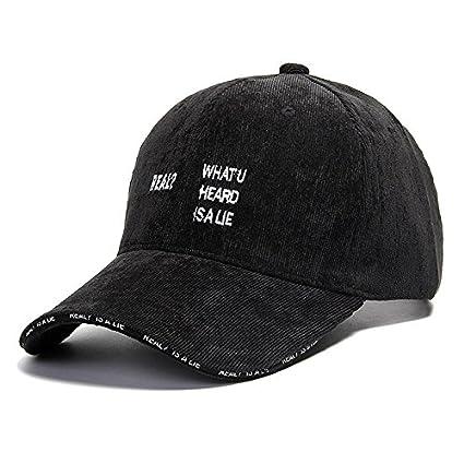 d4a4c6e870955 Hat House- Sombrero Hombres Gorra de béisbol de Verano Ocio Versión Coreana  Salvaje de la Gorra ...