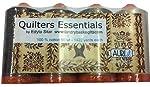 Aurifil Thread 4 large (1422 yard) Spools 50wt Cotton QUILTERS ESSENTIALS Neutrals By Edyta Sitar