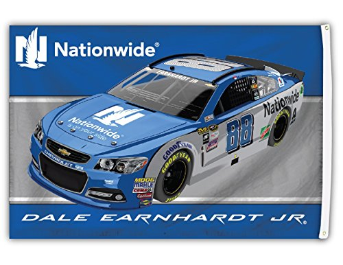 Dale Earnhardt Jr #88 2016 3x5 CAR Flag w/grommets Banner Nascar Racing