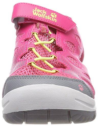 Jack Wolfskin Unisex-Kinder Titicaca VC Low K Sport Sandalen Pink (Tropic  Pink) ...
