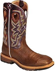 Twisted X Mens Lite Pull-on Work Boot Composite Toe - Mlcc001