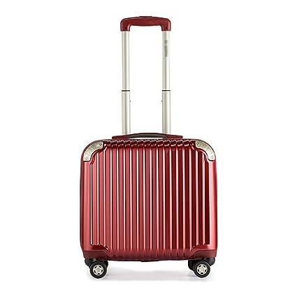 D_HOME Maleta con Ruedas Maleta con maletín de Negocios para Mujer Maleta pequeña Maleta Universal con