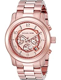 Mens Runway Rose Gold-Tone Watch MK8096. Michael Kors