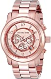 Michael Kors Men's Runway Rose Gold-Tone Watch MK8096