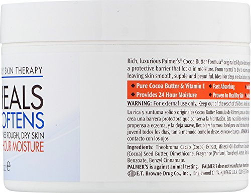 Palmer's Cocoa Butter Formula Daily Skin Therapy Jar, Solid Formula, 7.25 oz. (Pack of 12) by Palmer's (Image #2)