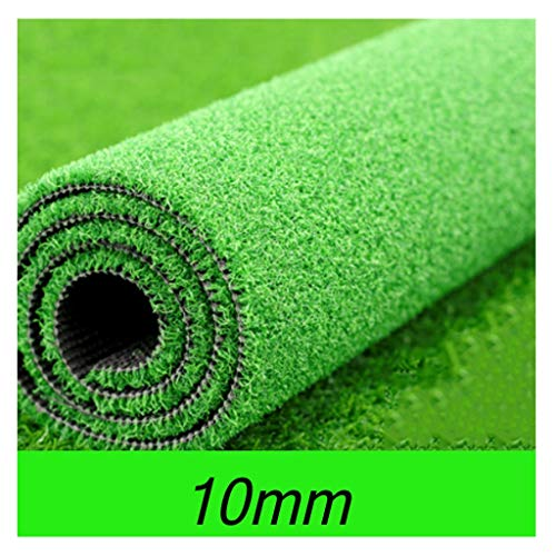 YNFNGXU Artificial Turf 10mm Pile High Encryption Thick Green Grass Indoor and Outdoor Tennis Court Decoration (Size : 2x2.5m)