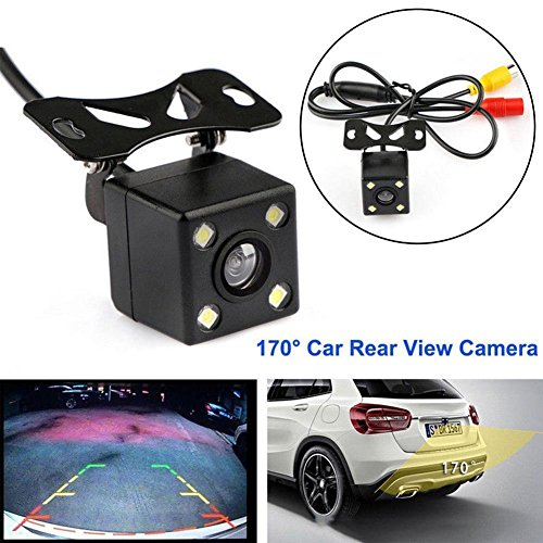Misszhang-US Waterproof Car Auto LED 1080P HD CCD Rear View Night Vision Monitor Park Camera - Ccd Stabilizer
