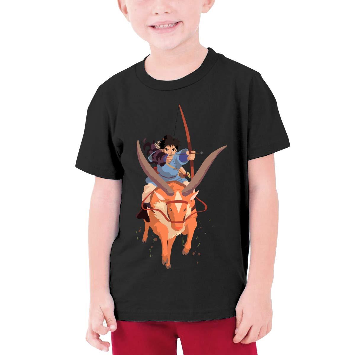 LOUHART Design Princess Mono Knight Funny T Shirts O-Neck for Teenagers Black